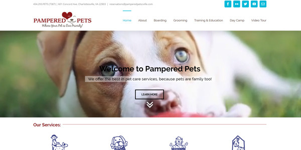 Pampered Pets Cville