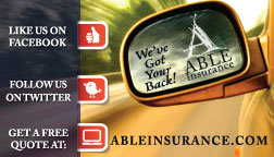Able Insurance Business Card Back