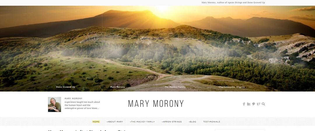 MaryMoronySite