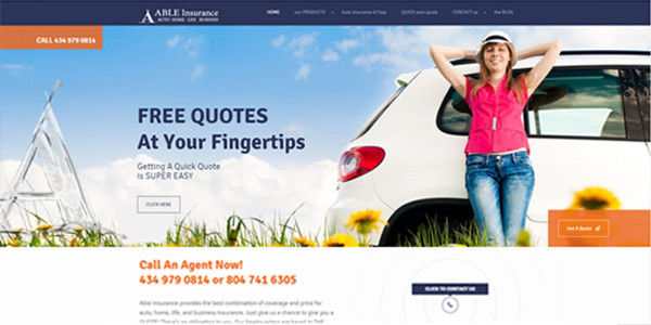 Able Insurance Website