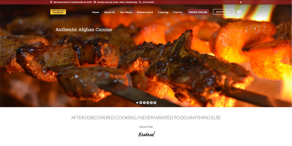 Afghan Kabob Cville