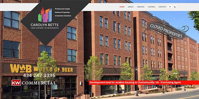Carolyn Betts Real Estate Investments